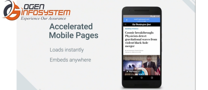 Accelerated Mobile Pages(AMP)