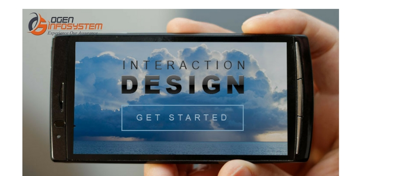 Apply Good Interaction Design